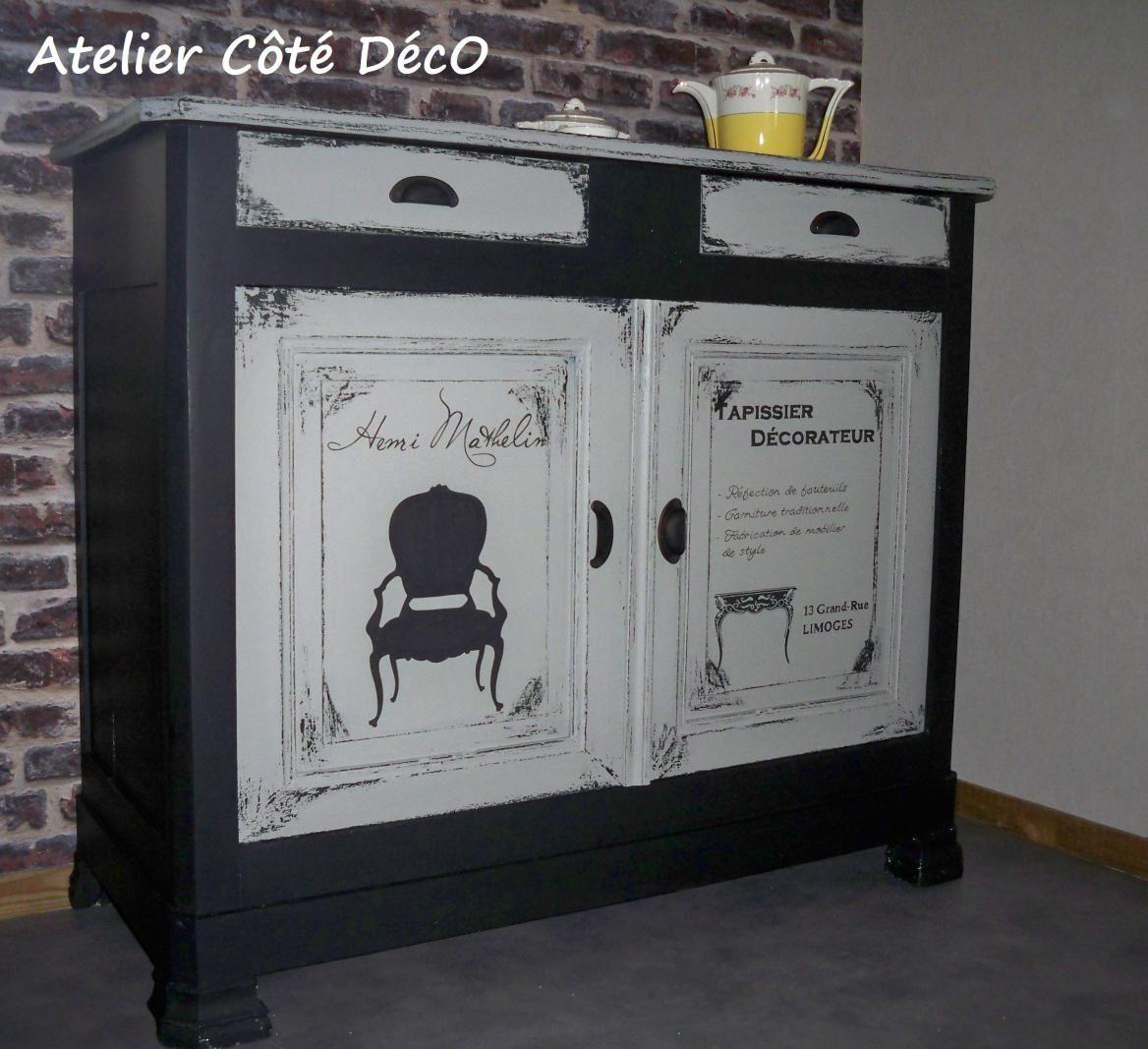 Salle A Manger Atelier Cote Deco Relooking De Mobilier Idee Deco Meuble Relooker Meuble