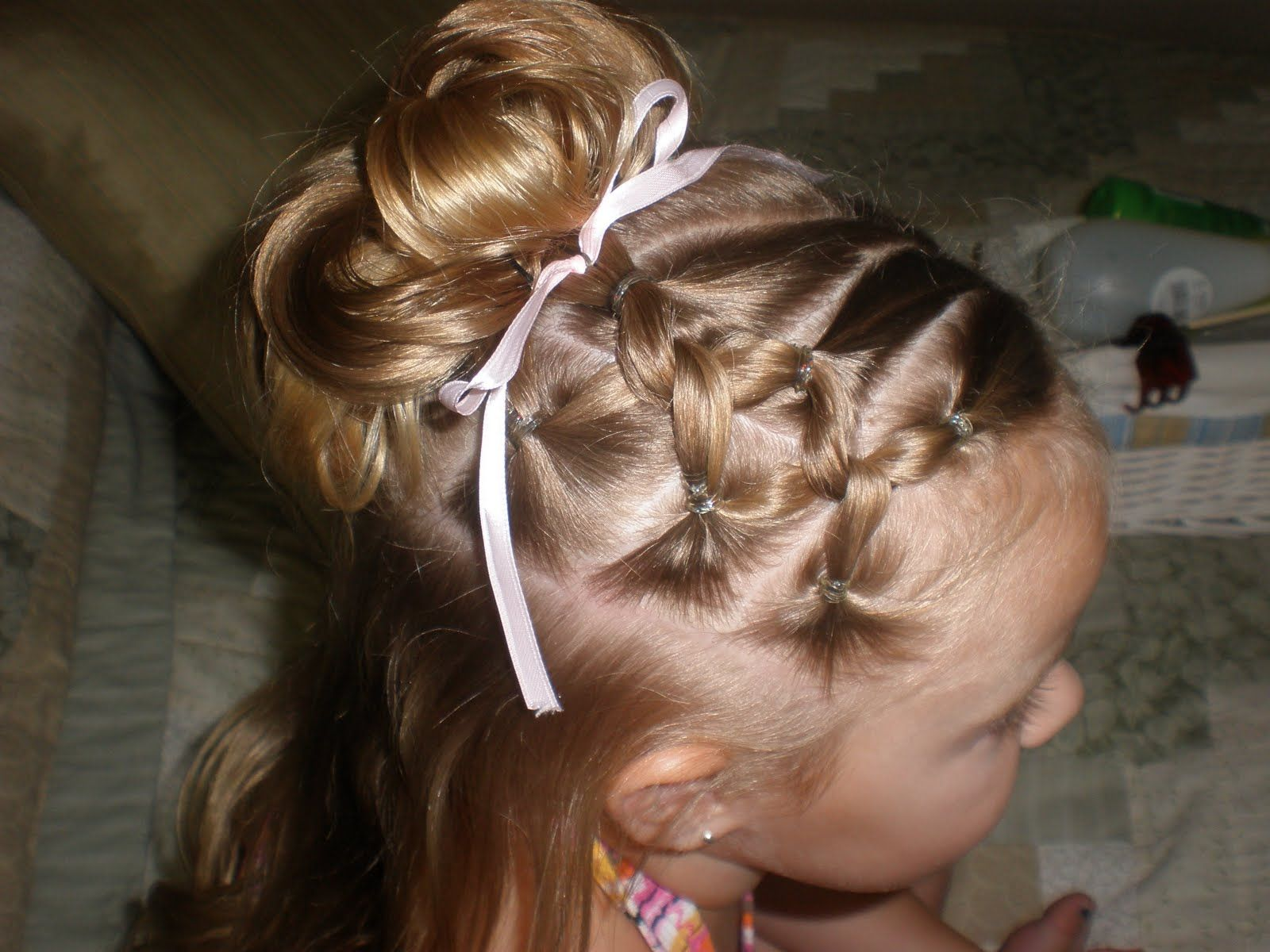 Pin by melissa hudson on hair girls hairdos hair hair styles