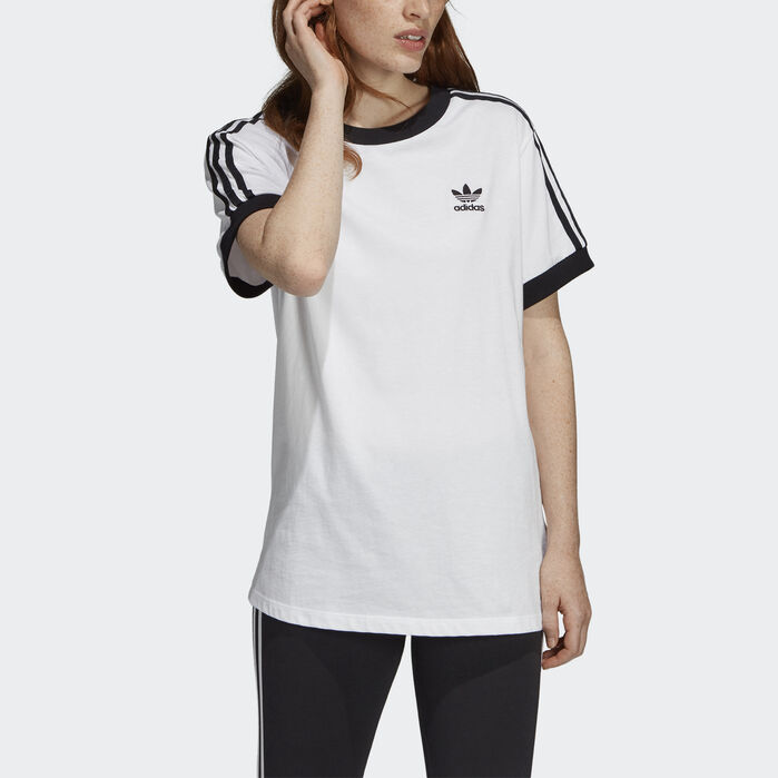 3-Stripes Tee | Striped tee, Adidas women, Adidas fashion