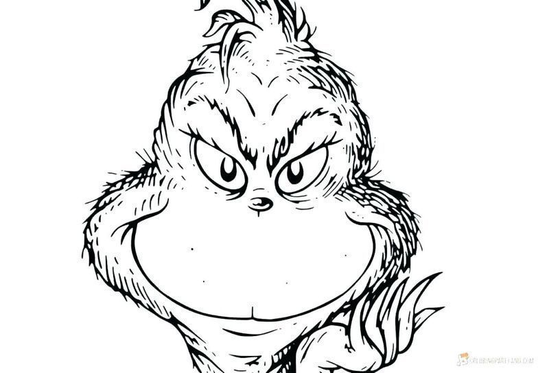 The Grinch - The Grinch Kids Coloring Pages | 544x800