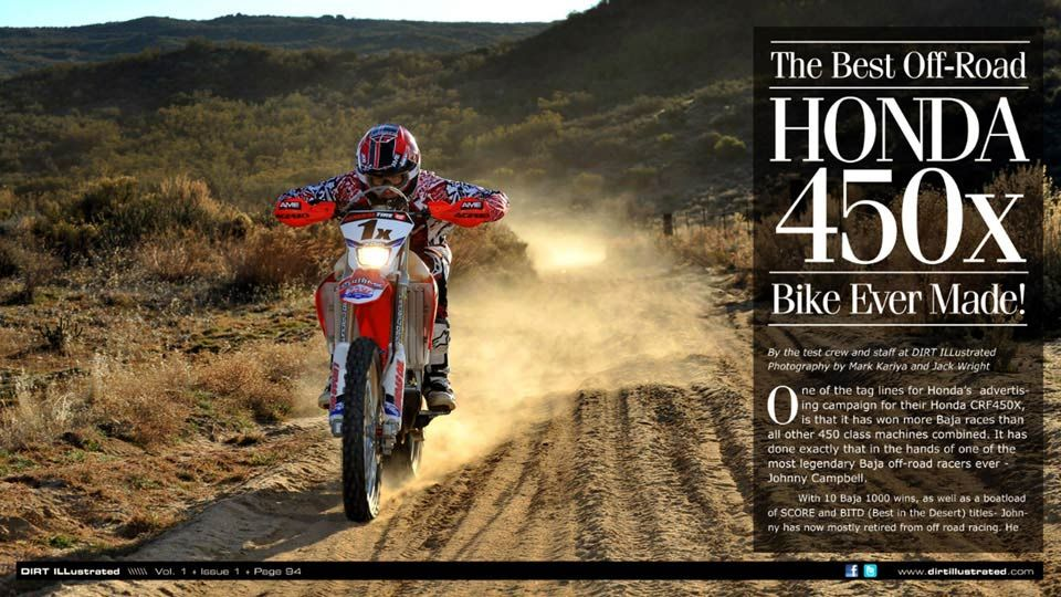 Honda CRF450x Tested - The Best Off-Road Bike Ever Made!- Dirt Illustrated