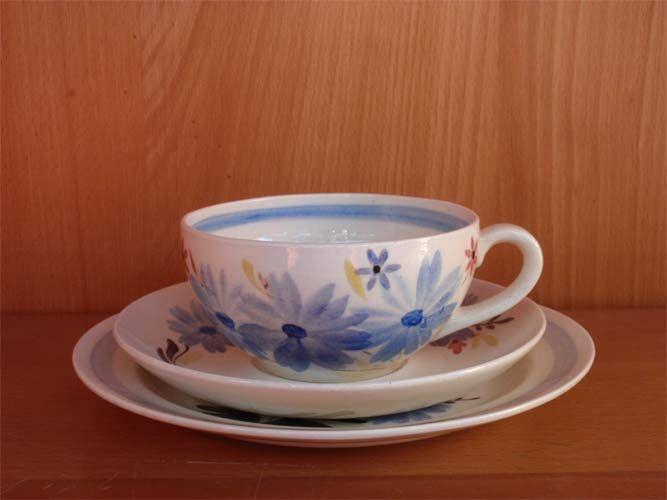 Arabia Käsinmaalattu teekuppi