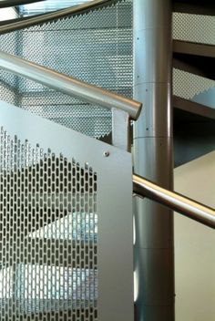 Perforated Metal Panel Guardrail And Stair Ideas