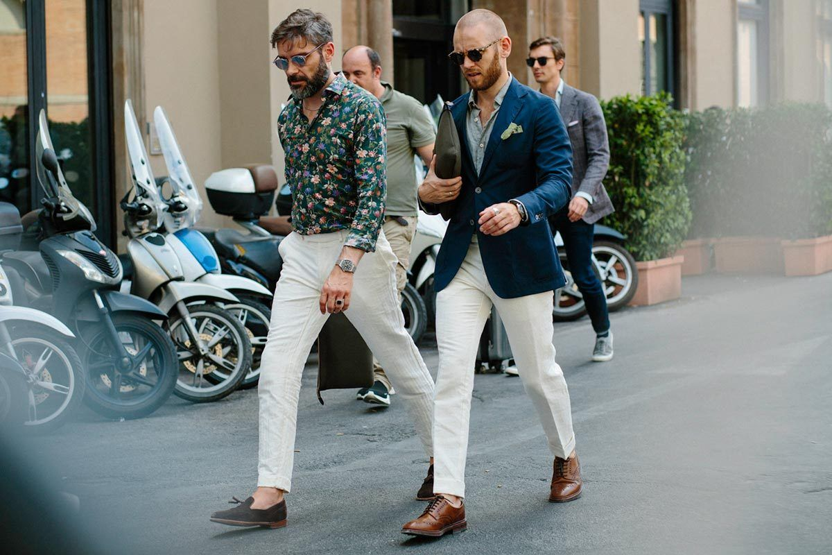f833dff37a7 Photo Report  The Best Street Style From Pitti Uomo 92 - He Spoke Style