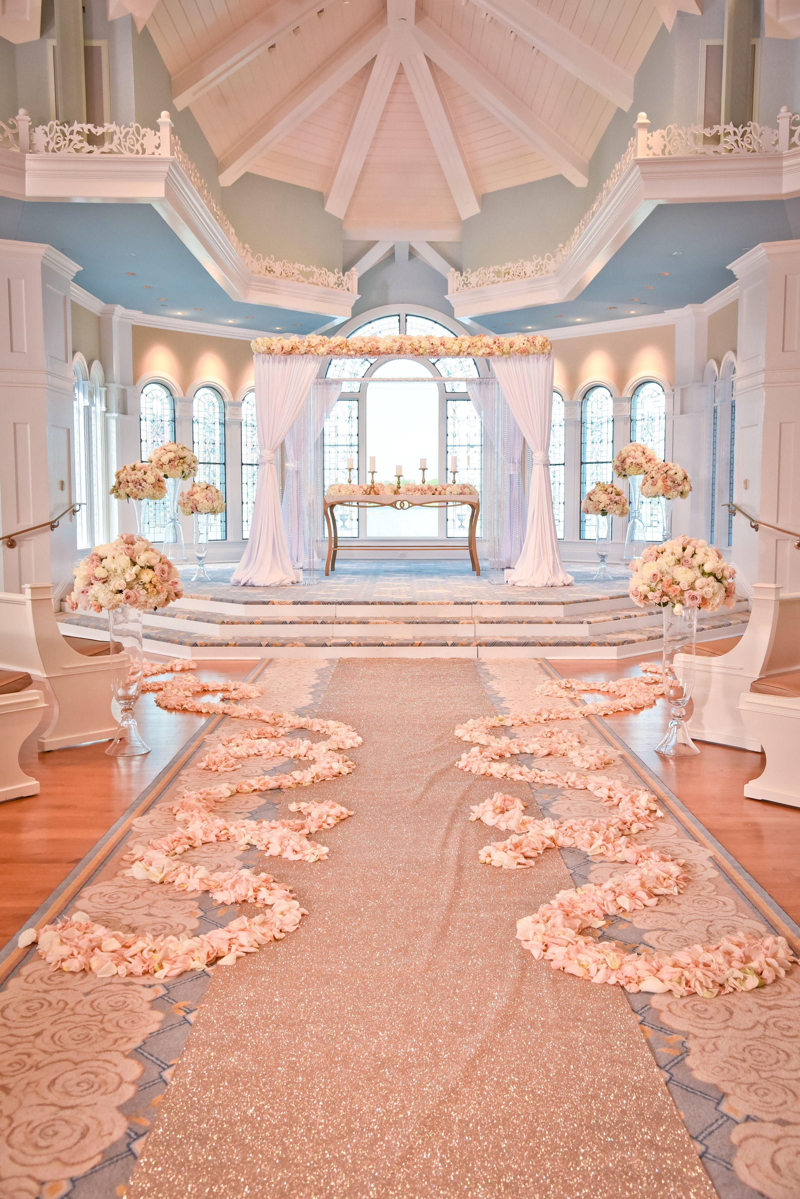 Decor look from the Disney's Fairy Tale Weddings TV Show ...