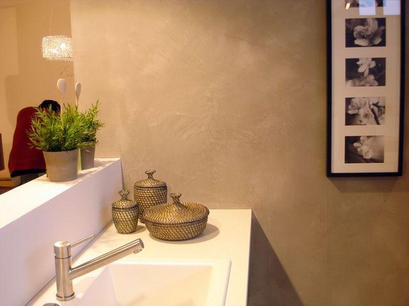 Unsere Marmorputze Bergen Neue Möglichkeiten Für Die Wandgestaltung Von  Küchen, Auch Im Bereich Hinter Den Arbeitsplatten.