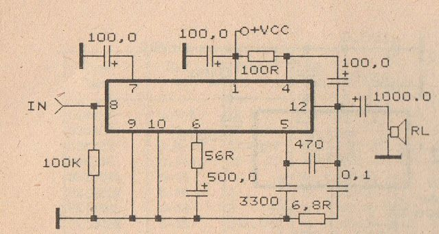 Pin On Audio Schematic