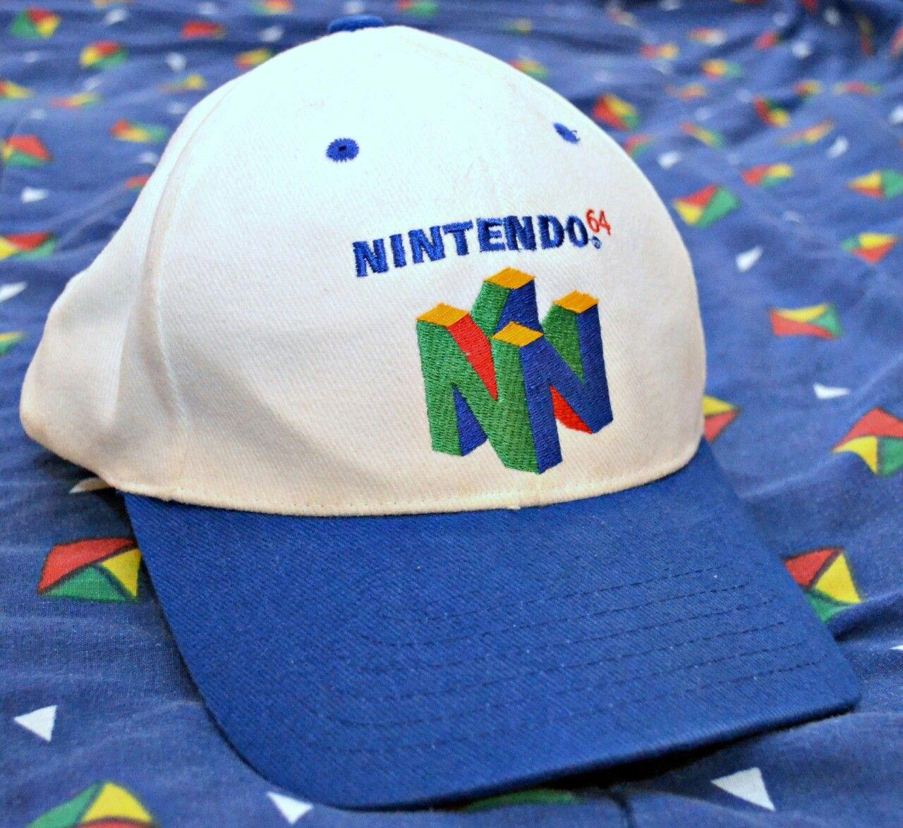 Nintendo 64 Hat  1ffdbe0fe7b1