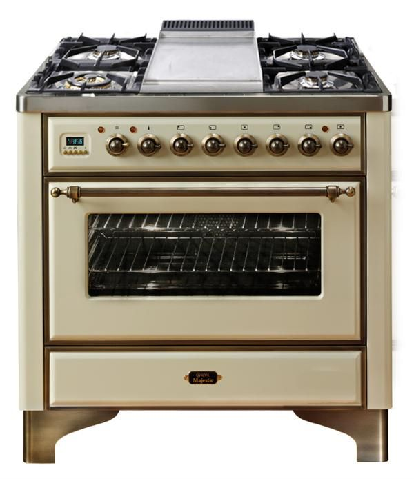 """ILVE 36"""" Dual Fuel Majestic Range from EuroChef USA"""