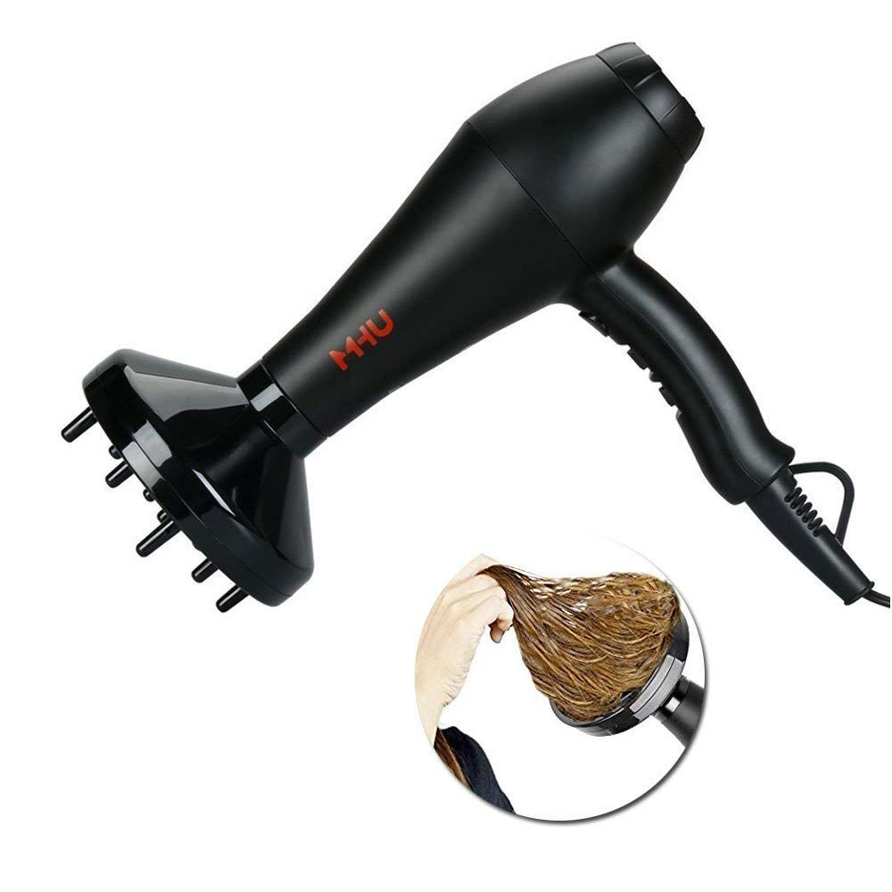 MHU Professional Ionic Hair Dryer with Far Infrared Heat
