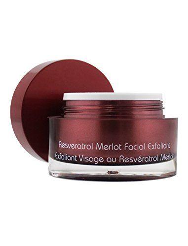 Vine Vera Resveratrol Merlot Facial Exfoliant Click For Special Deals Facialscrubs Vine Vera Resveratrol Facial Exfoliator Resveratrol
