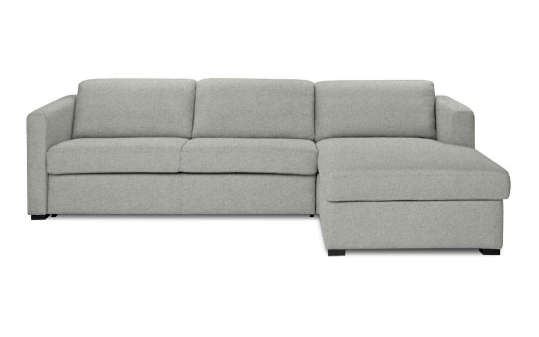 Schlafsofa Gastfreund Recamiere Rechts Stoff Lana Hellgrau Sitzfeldt Com Recamiere Moderne Couch Sofa