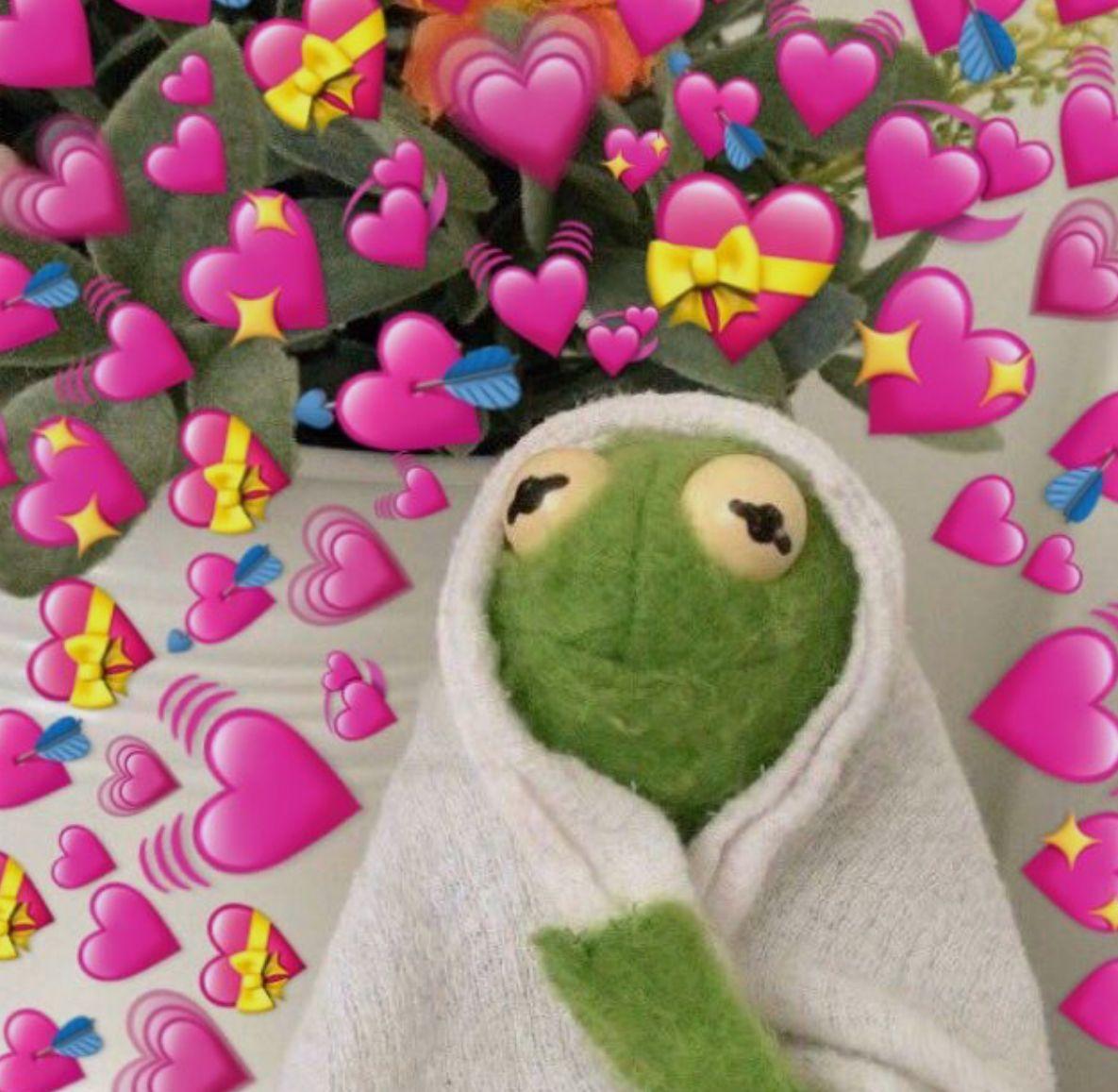 Pin By Joselene Vallejo On Memes Cute Love Memes Frog Wallpaper Cute Memes