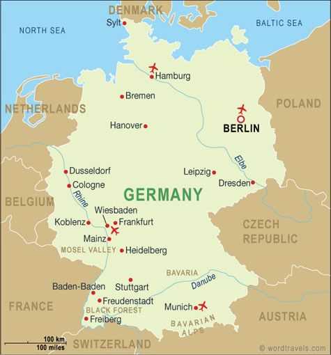 Map Of Germany Ramstein.Air Force Base In Germany Map Danielrossi