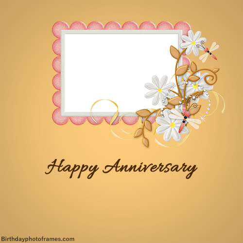 Happy Anniversary Card With Name Edit Happy Anniversary Cards Happy Wedding Anniversary Cards Happy Anniversary
