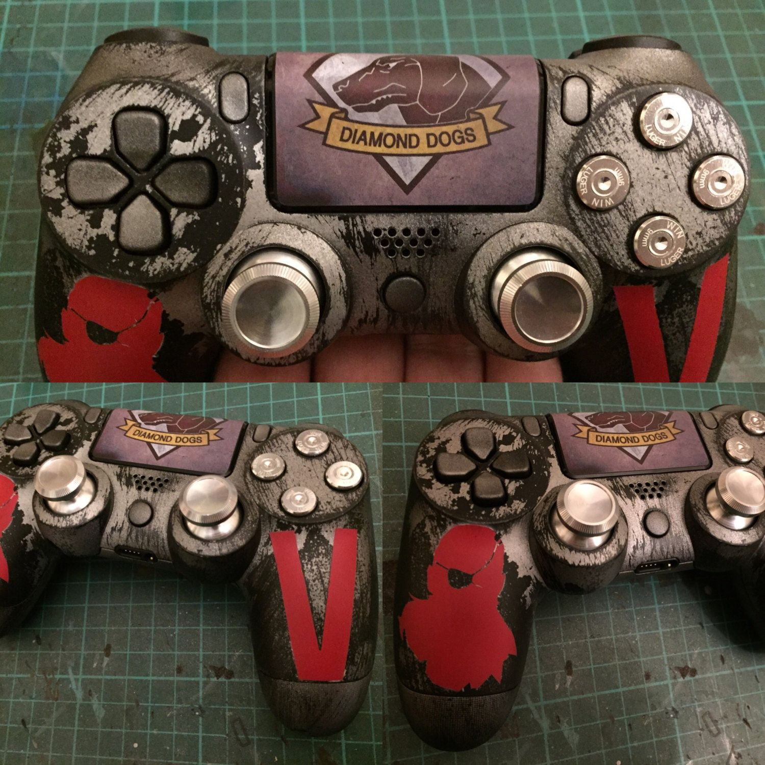 Metal Gear Solid inspired PS4 controller | Playstation 4