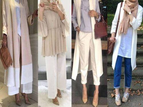 f1bb701ca29 Neutral classy hijab-Trendy hijab style for 2018 – Just Trendy Girls ...