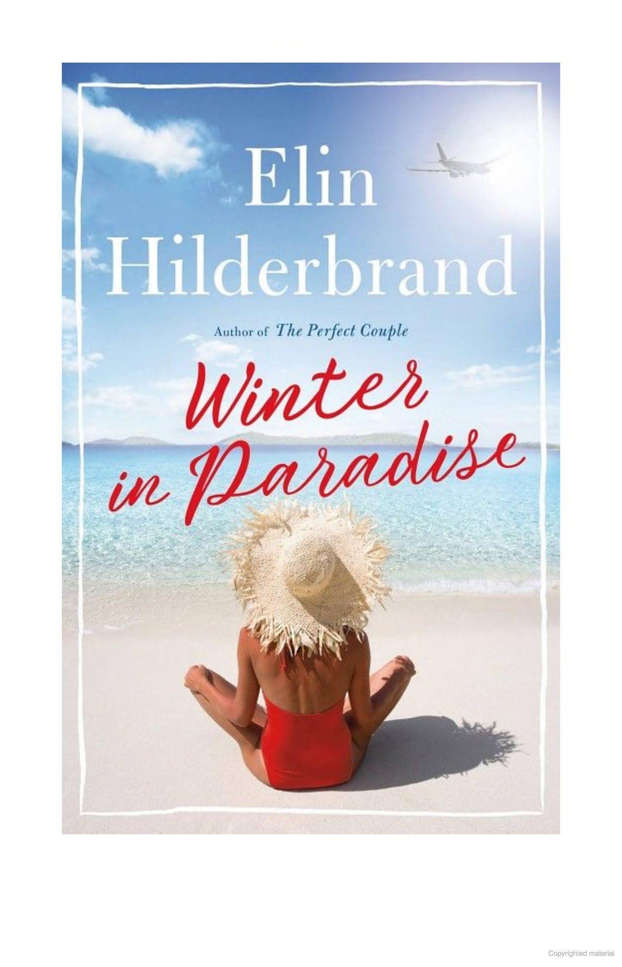 Winter in Paradise by Elin Hilderbrand Elin hilderbrand
