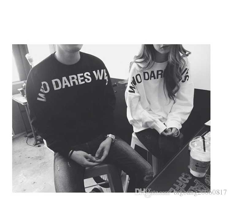 2017 Character Letter Numberl Print Girl Boy Couples Men Women Hoodie Fleece Hot Fashional Warmer Thick Autumn Winter Different Sizes Black Gray From Bigbang20060817, $13.87   Dhgate.Com