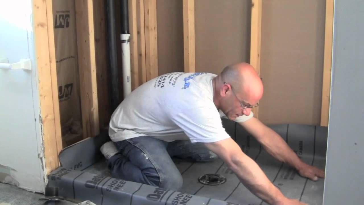 How to build a tiled shower tub - In This Video I Ll Show You How To Make A Mortar Shower Pan