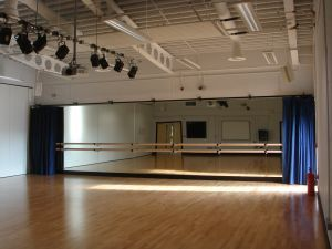 Wall Mounted Mirrors And Curtains For Dance Studios