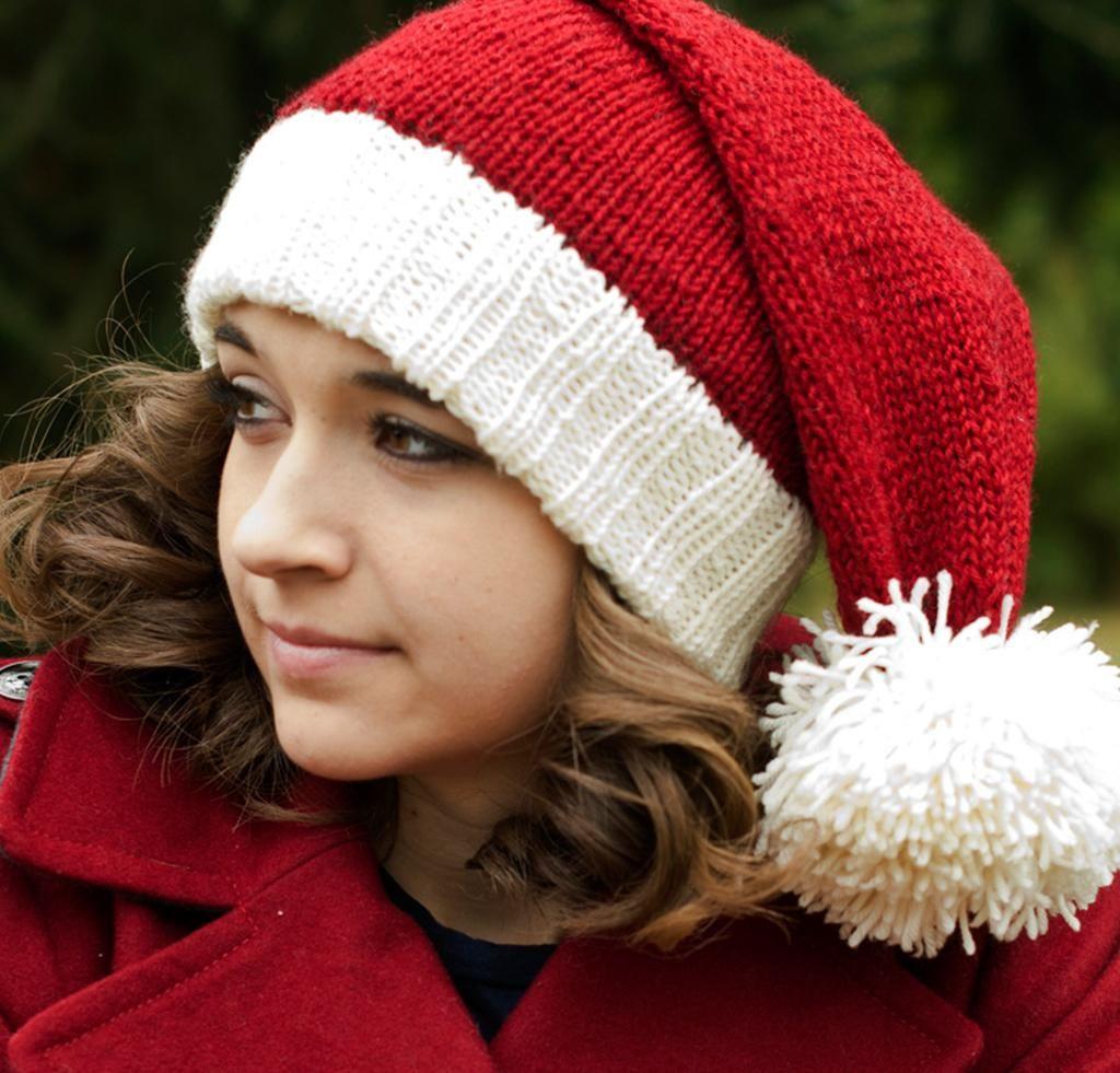 Christmas Knitting Kits to Spread the Holiday Cheer | Santa hat ...