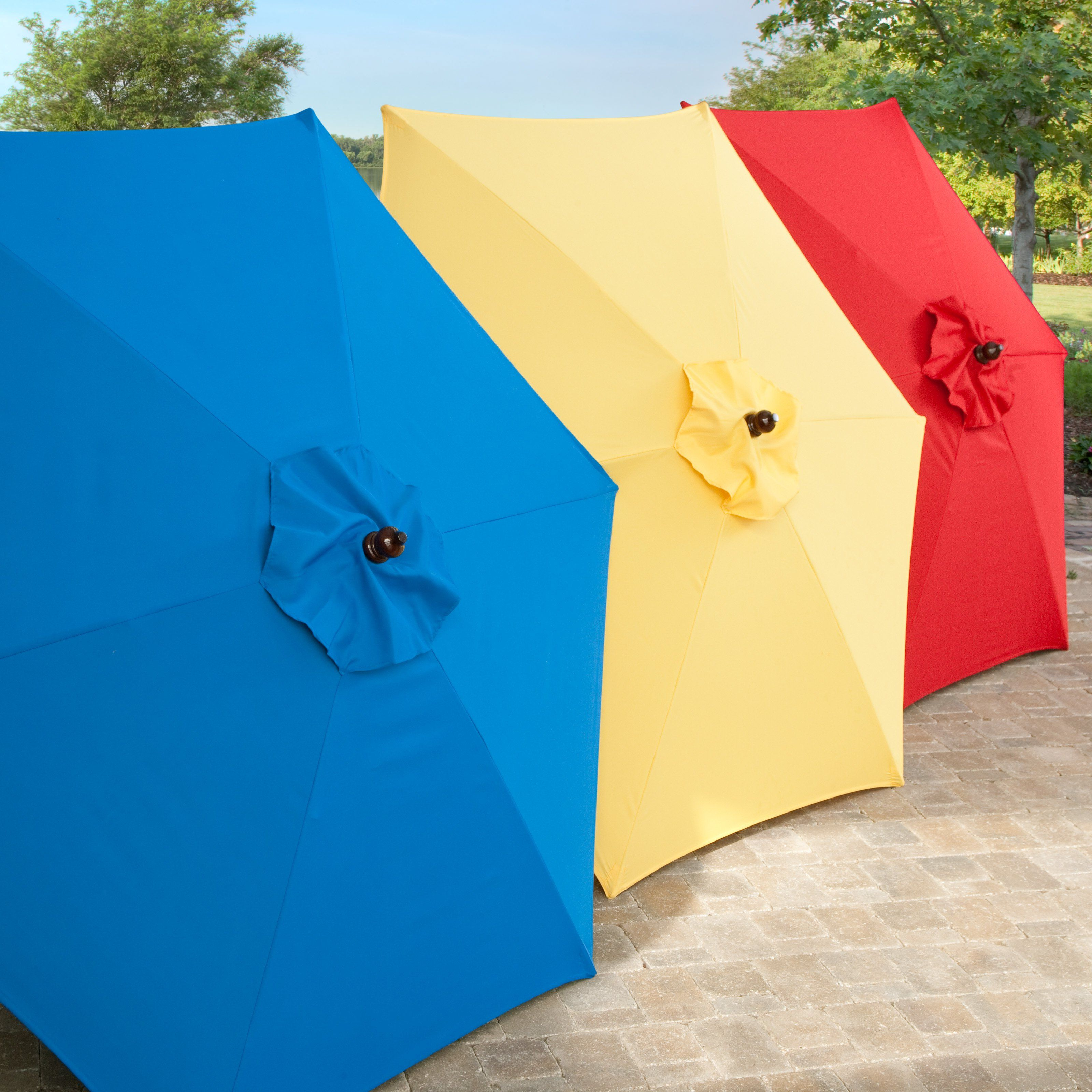 find great umbrellas such as clamp on red and white umbrella at