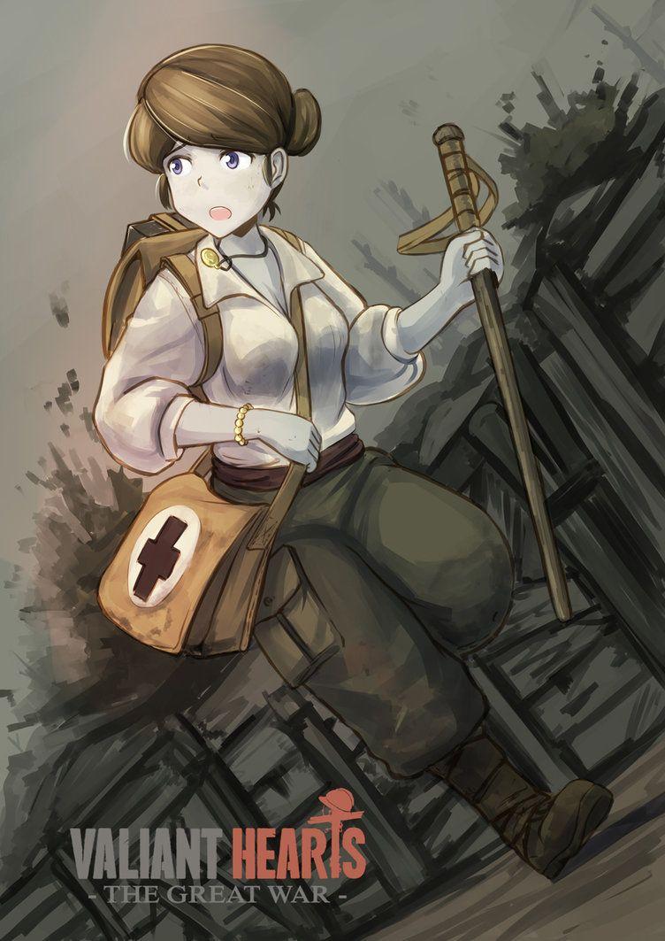 Valiant hearts the great war by erica1940 on deviantart - Anime war wallpaper ...