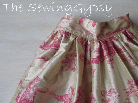 Little Girls Full Skirt-