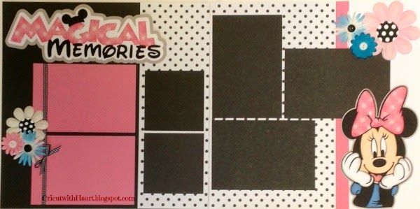 Minnie Mouse Layout Cricut And Mice