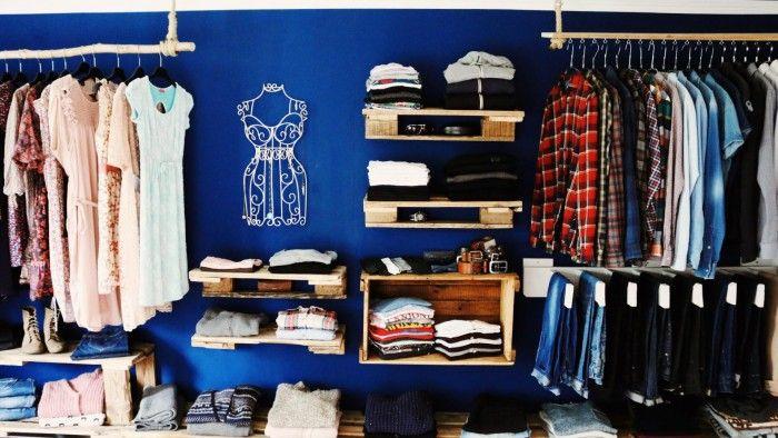 Kleiderschrank Diy begehbarer kleiderschrank oder regalsystem upcycling diy