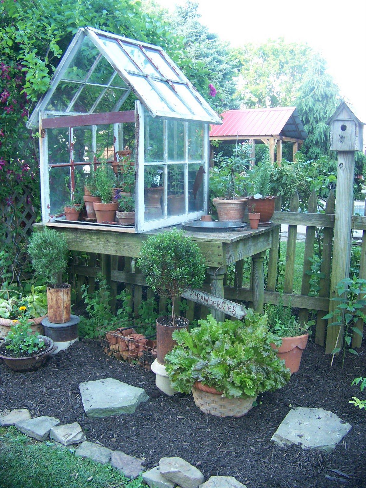recycled window idea   In the Garden   Pinterest   Gardens, Green ...