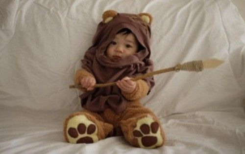 Either one of my children will dress like this or... our dog!