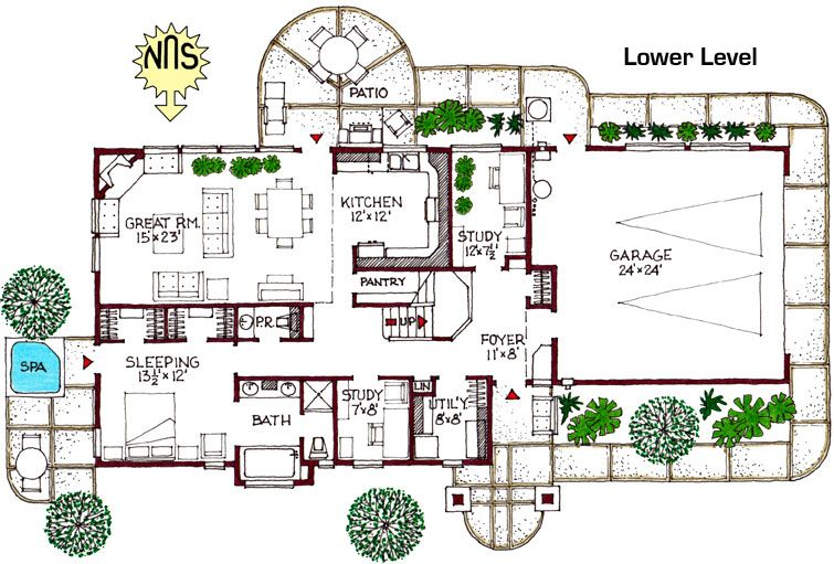 House Plans Green Home Building Plans Bend, OR