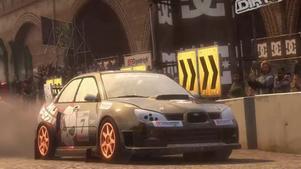 Subaru Impreza Sti Group N London Dirt 2 Gameplay