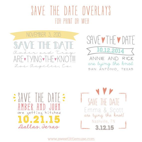 Save The Date Overlays  Save The Date Template Overlays  Psd Save