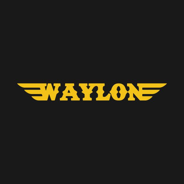 Check out this awesome 'Waylon+Jennings+Logo' design on