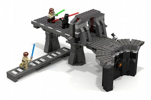 Duel Of The Fates A Lego Creation By Zed Mocpages Com Lego Star Wars Lego War Star Wars