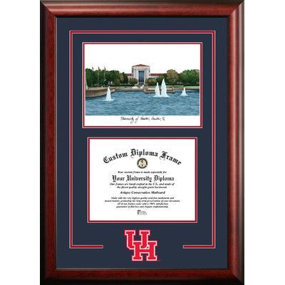Campus Images Ncaa Spirit Graduate Diploma Picture Frame Ncaa Team