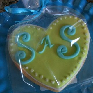 Bridal shower or bachelorette party cookies