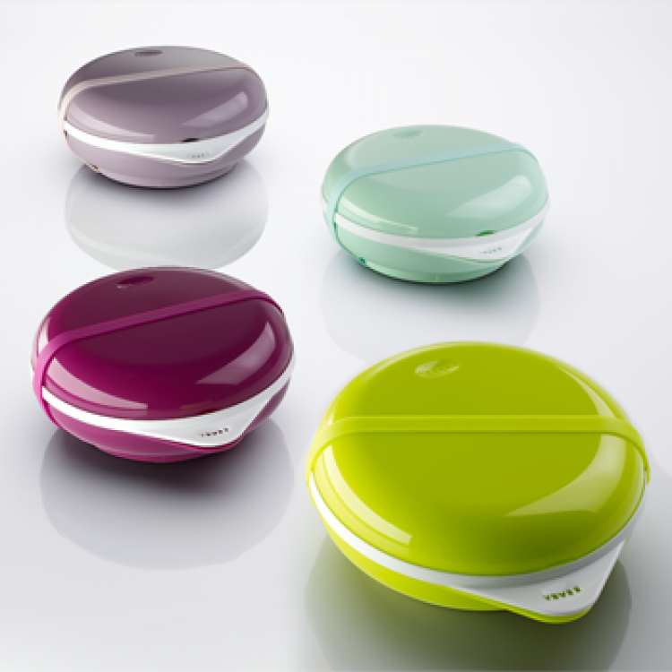 "TUPPERWARE BENTO BOX ""ELLIPSE"" + CUBIERTOS - www.yasomos3.es 