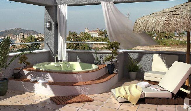 decorar una terraza relajante