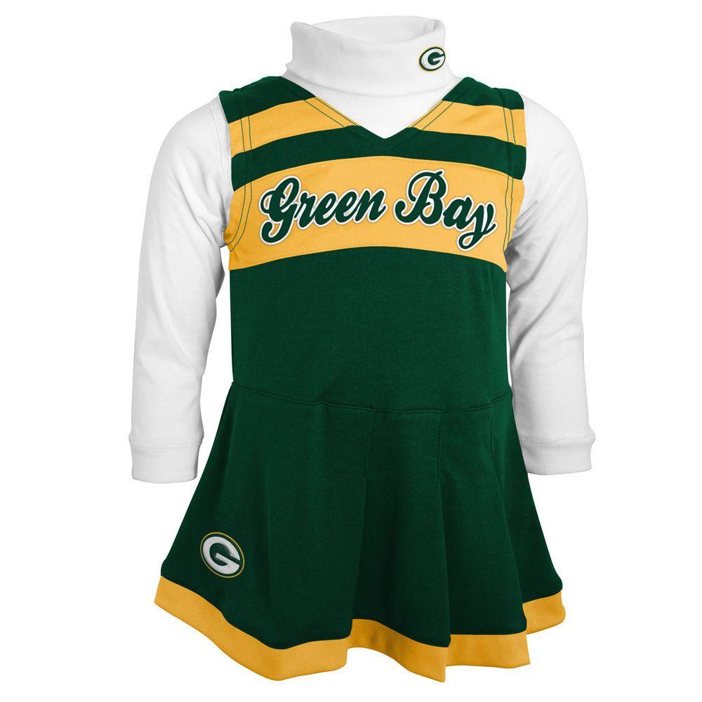 Outerstuff New York Jets Football Girls Cheerleader Dress Clothing Apparel