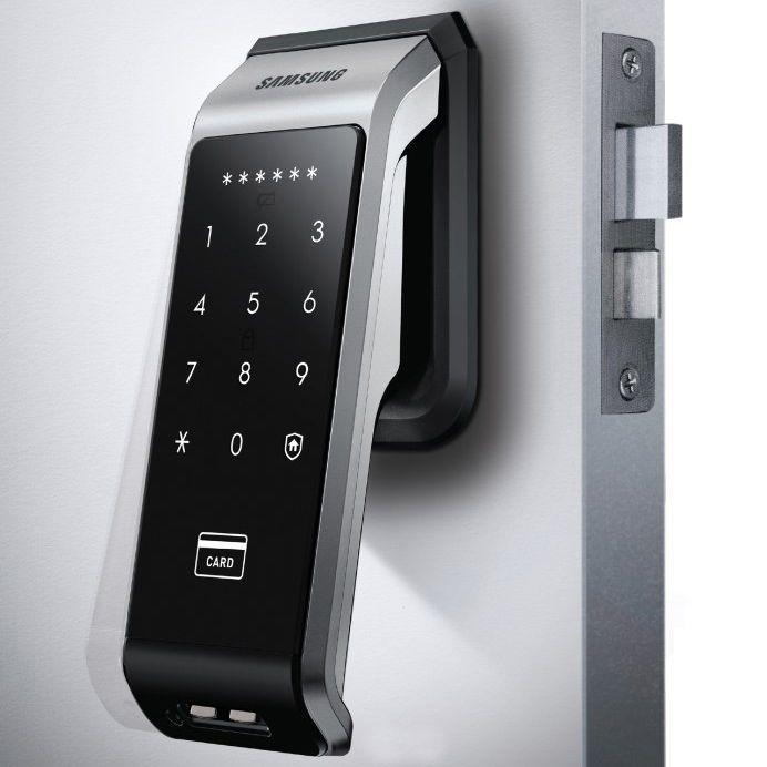 Express Samsung Shs P510 Digital Door Lock 4 Key Tags Shs 6600 Shs 6601 Digital Door Lock Smart Door Locks Door Locks