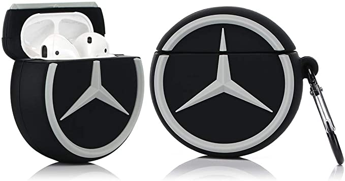 Amazon Com Lkdepo Airpods Silicone Case Cover And Skin Kits With Keychain Compatible For Airpods 1 2 3d Car Luxury Car Logos Luxury Cars Luxury Car Interior