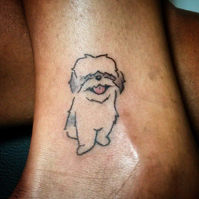 Small Memorial Tattoos: Top 20 Dog Tattoos Of All-Time - Tattoos Of The Day