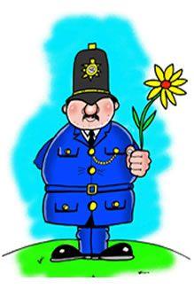 Cartoon Policeman Uk