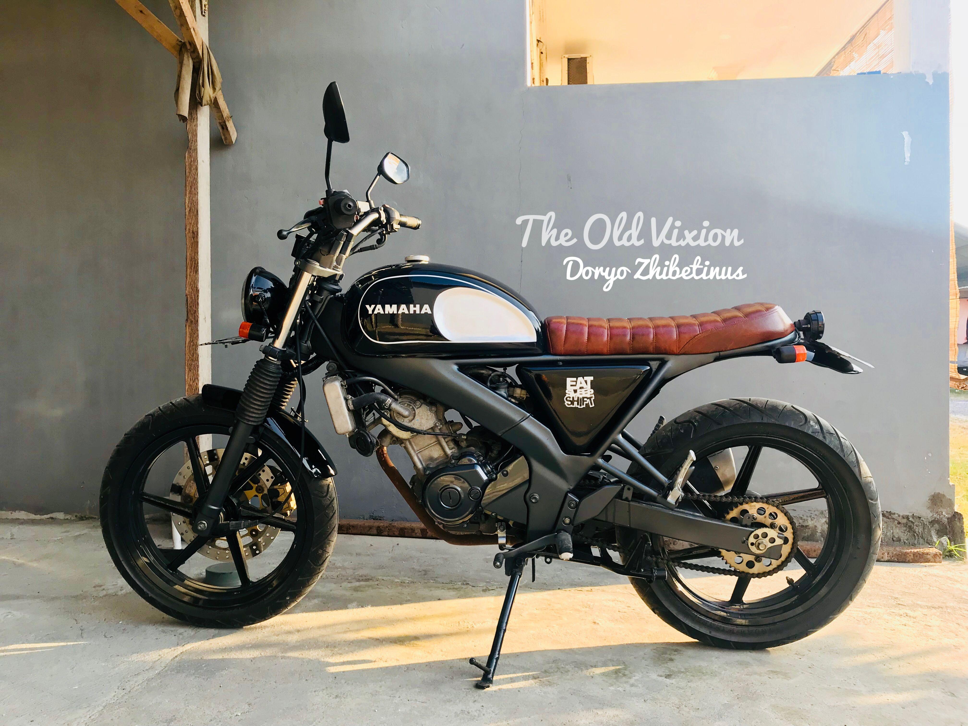 Yamaha Vixion 150 Scrambler Japstyle Motor Modifikasi Motor Mobil