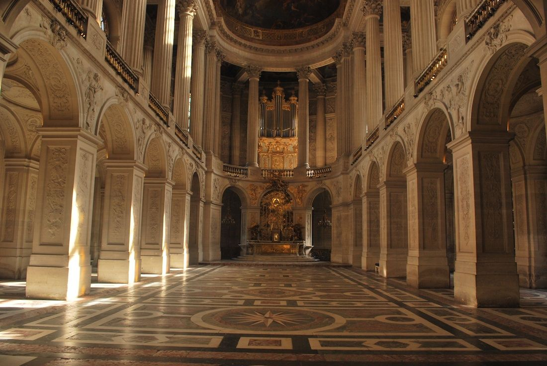 Palace Of Versailles Royal Chapel Ch 226 Teau De Versailles