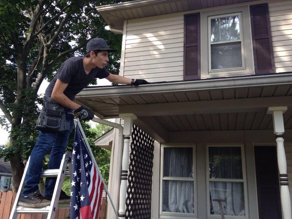 Gutter Cleaning in Toledo OH by Gutter Man Gutters. Visit